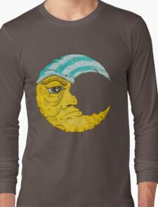 Old Man Moon Long Sleeve T-Shirt