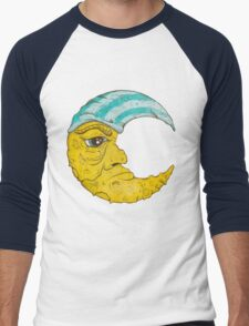Old Man Moon Men's Baseball ¾ T-Shirt
