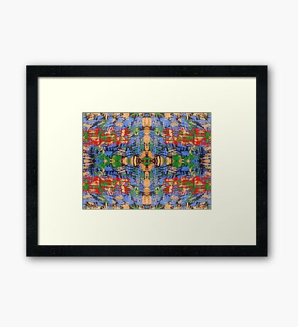 ABSTRACT 520 Framed Print