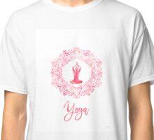 Yoga blossom  Classic T-Shirt