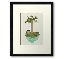 Totara House - Small Worlds Framed Print