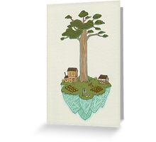 Totara House - Small Worlds Greeting Card