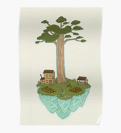 Totara House - Small Worlds Poster