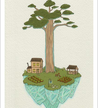 Totara House - Small Worlds Sticker
