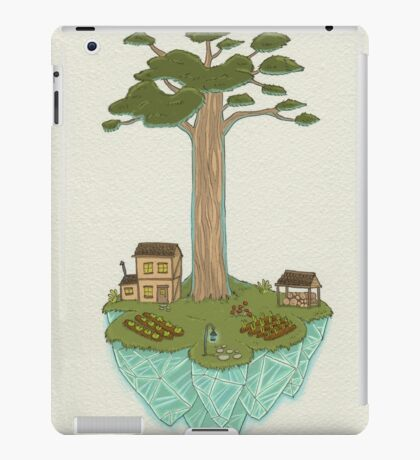 Totara House - Small Worlds iPad Case/Skin