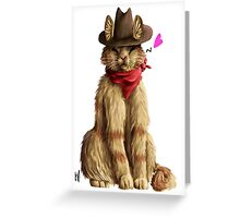 Billy the Kitten Greeting Card