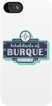 Inhabitants of Burque T-Shirt by IOBurque