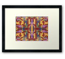 ABSTRACT 523 Framed Print