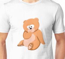 Cute Bear Relaxing Under a Tree Unisex T-Shirt