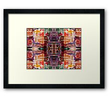 ABSTRACT 717 Framed Print