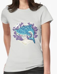 NOM the Whale Shark Womens Fitted T-Shirt