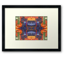 ABSTRACT 463 Framed Print