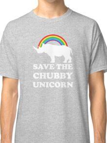 Save The Chubby Unicorn Classic T-Shirt