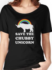 Save The Chubby Unicorn Women's Relaxed Fit T-Shirt