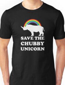 Save The Chubby Unicorn Unisex T-Shirt