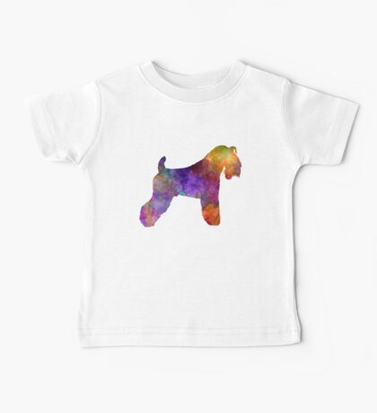 Kerry Blue Terrier 01 in watercolor Baby Tee