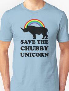 Save The Chubby Unicorn, Funny Rhino T-Shirt