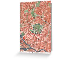 Tokyo map classic Greeting Card
