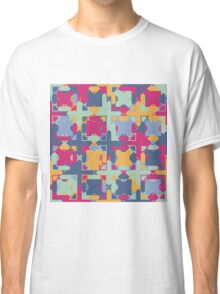 Seamless pattern. Colorful psychedelic design. Classic T-Shirt