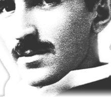 Quote By Nikola Tesla Sticker
