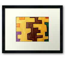 ABSTRACT 442 Framed Print