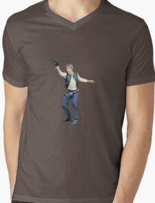 sw - han solo Mens V-Neck T-Shirt