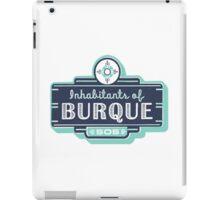 Inhabitants of Burque T-Shirt iPad Case/Skin