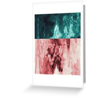 Colorful Glitch Greeting Card