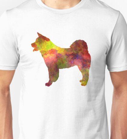American Akita in watercolor Unisex T-Shirt