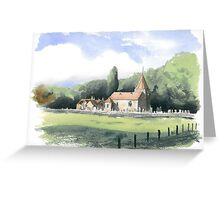 Abbey St. Bathans Old Kirk Greeting Card