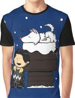 Snow Peanuts Graphic T-Shirt