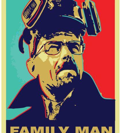 "Breaking Bad: Walter White ""Family Man"" Sticker"