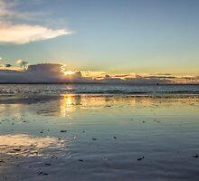 Crosby Beach Panorama by Paul Madden