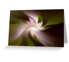 Floral Abstract 2 Greeting Card
