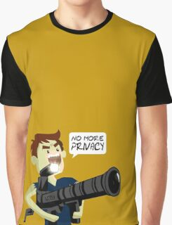 No more privacy Graphic T-Shirt