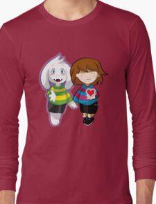 Undertale Asriel and Frisk Together  Long Sleeve T-Shirt