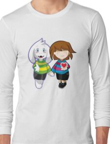 Undertale Asriel and Frisk Together  Long Sleeve T-Shirt