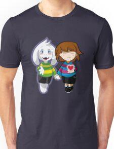Undertale Asriel and Frisk Together  Unisex T-Shirt