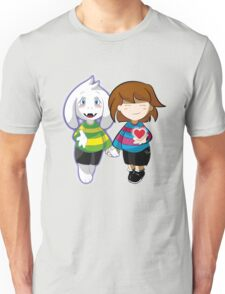 Undertale Asriel and Frisk Together  Unisex T-Shirt