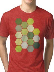 Shades of Green Tri-blend T-Shirt