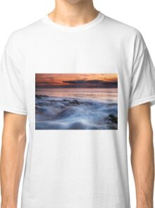 A Wave At Sunset Classic T-Shirt