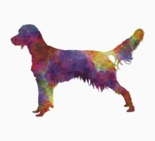 French Spaniel in watercolor Baby Tee