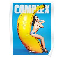 COMPLEX DEMI LOVATO BANANAS by safma Poster