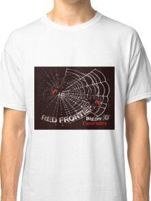 Red Frontier Australian Digger Comrades Redback Spider  Classic T-Shirt