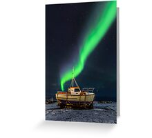 On dry land Greeting Card
