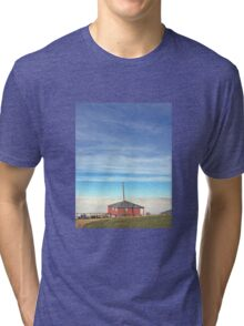 Country Cottage Tri-blend T-Shirt