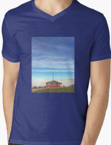 Country Cottage Mens V-Neck T-Shirt