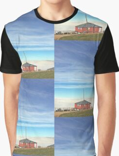 Country Cottage Graphic T-Shirt