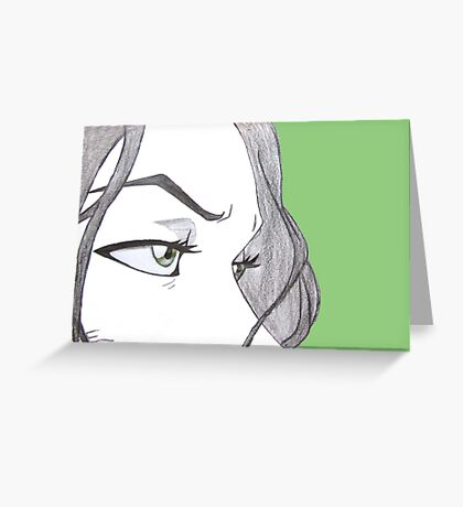Chief Lin Beifong (Any Color!)  Greeting Card
