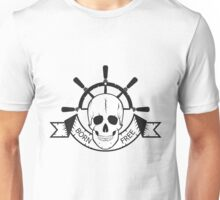 "The skull of a ""sea devil""  pirate logo  Unisex T-Shirt"